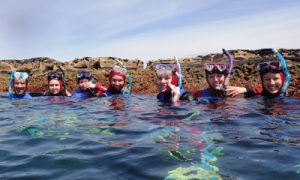 Coastal Ambassadors at Port Noarlunga Reef Aquatic Reserve. Photo: Mike Bossley