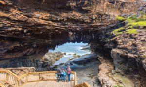 Admirals Arch, Cape du Couedic, Flinders Chase National Park, Kangaroo Island. Photo: Adam Bruzzone. Copyright SATC